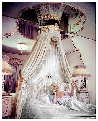 This Lovely Picture Taken In The Bedroom Of Her Famous Hollywood Apartment Adorned Its Cover